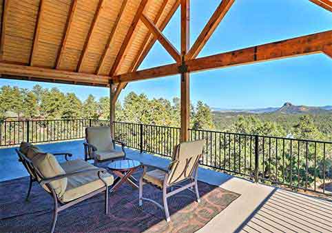 Pet-Friendly Prescott Home with Game Room & Mountain Views